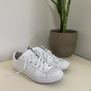 Converse CT Street White Leather Slip-On